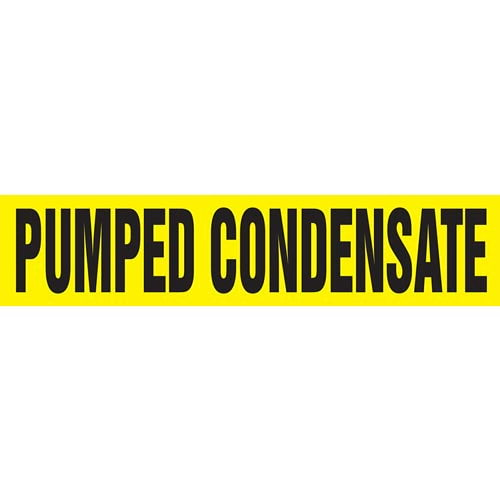 Pumped Condensate Pipe Marker - ASME/ANSI (013848)
