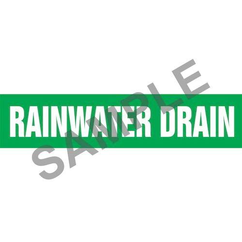 Rain Water Drain Pipe Marker - ASME/ANSI (013850)