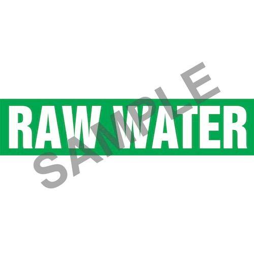 Raw Water Pipe Marker - ASME/ANSI (013851)