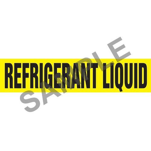 Refrigerant Liquid Pipe Marker - ASME/ANSI (013852)