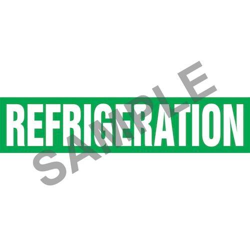 Refrigeration Pipe Marker - ASME/ANSI (013856)