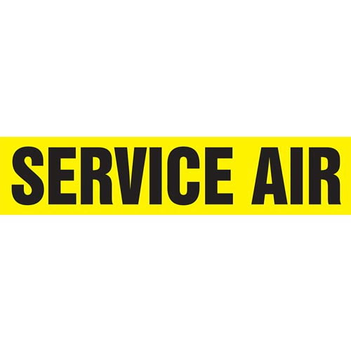 Service Air Pipe Marker - ASME/ANSI (013865)