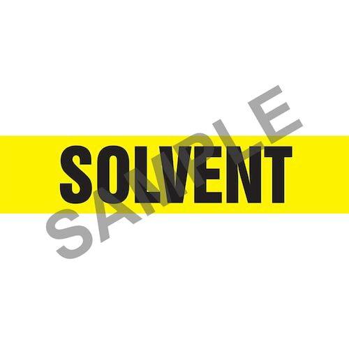 Solvent Pipe Marker - ASME/ANSI (013874)