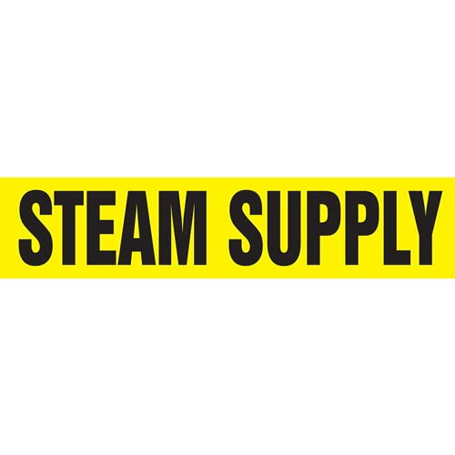 Steam Supply Pipe Marker - ASME/ANSI (013878)