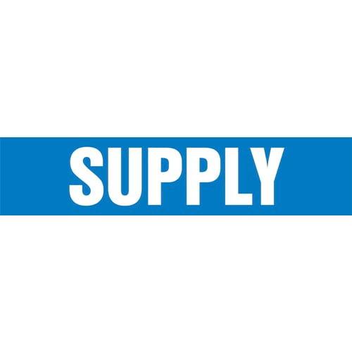 Sulfur Dioxide Pipe Marker - ASME/ANSI (013882)