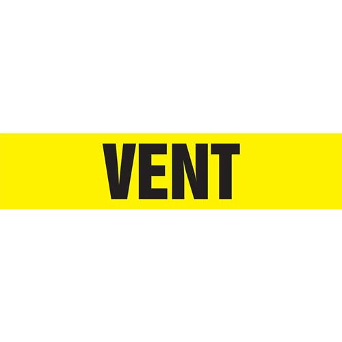 Vent Pipe Marker - ASME/ANSI (013895)