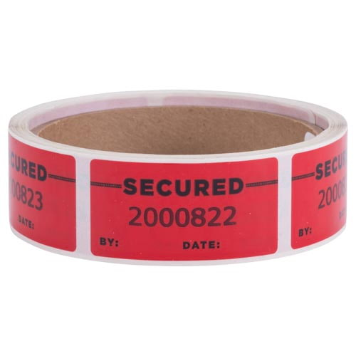 Void Open - Tamper Evident Label (014023)