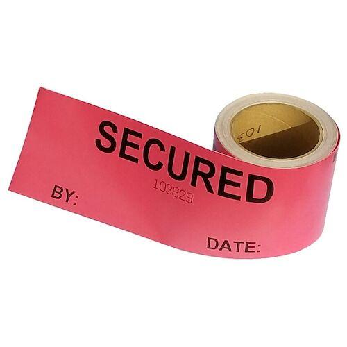 Void Open - Tamper Evident Cargo Door Label/Seal (014025)
