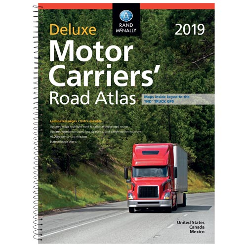 Rand McNally Deluxe Motor Carriers' Road Atlas (03942)