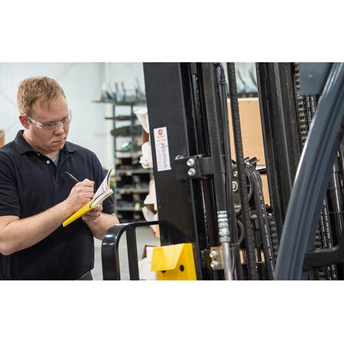 Forklift Training: (Module 2 of 4) Equipment Inspections