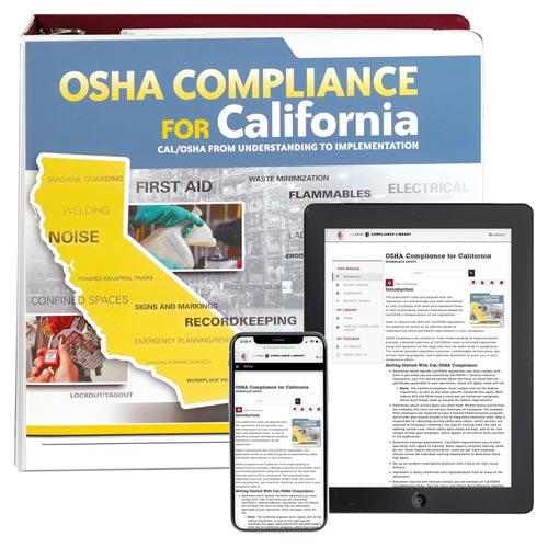 OSHA Compliance for California Manual (00109)