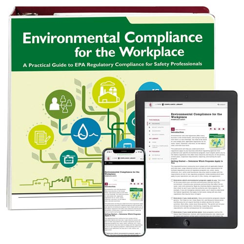 Environmental Compliance for the Workplace Manual (00251)
