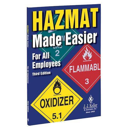 Hazmat Made Easier for All Employees Handbook, Third Edition (00150)