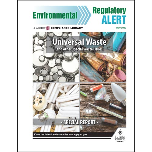 Special Report - Universal Waste (014425)