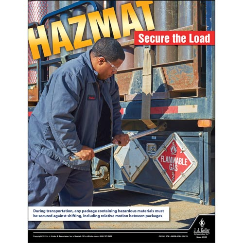 Secure The Load - Hazmat Transportation Poster (014430)