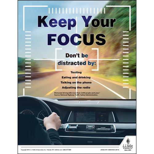 Keep Your Focus - Health & Wellness Awareness Poster (014434)