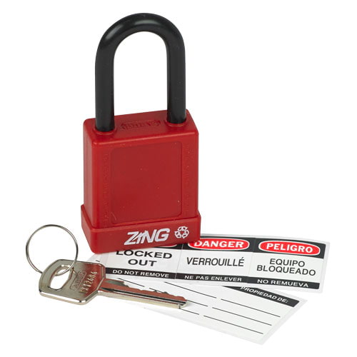 RecycLock™ Keyed Different Safety Padlock (014562)