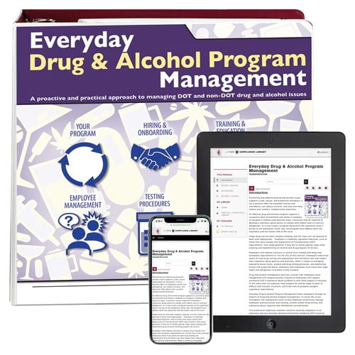 Everyday Drug & Alcohol Program Management Manual (00481)