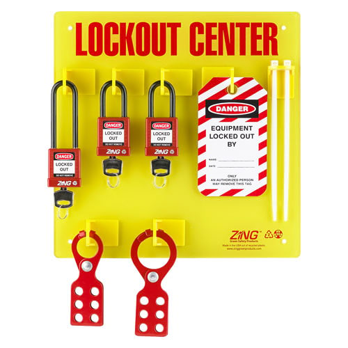 General Purpose Small Wall-Mounted Lockout/Tagout Station (014573)