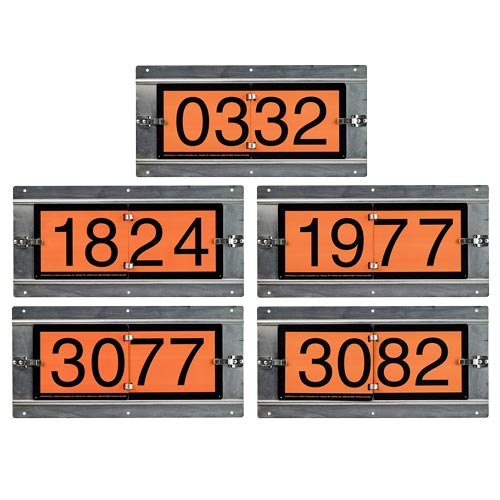 Orange ID Number 5-Panel Flip Set (014590)