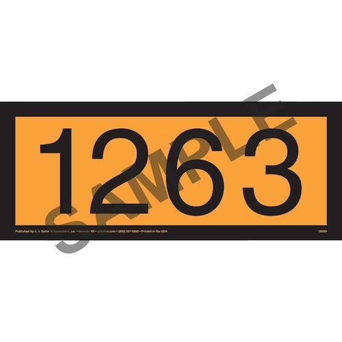 1263 Orange Panel (014632)