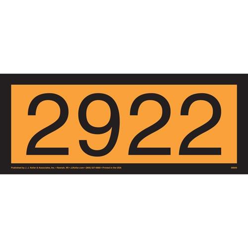 2922 Orange Panel (014633)