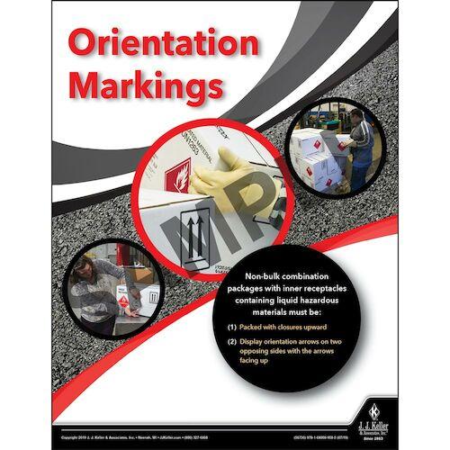 Orientation Markings - Hazmat Transportation Poster (014658)