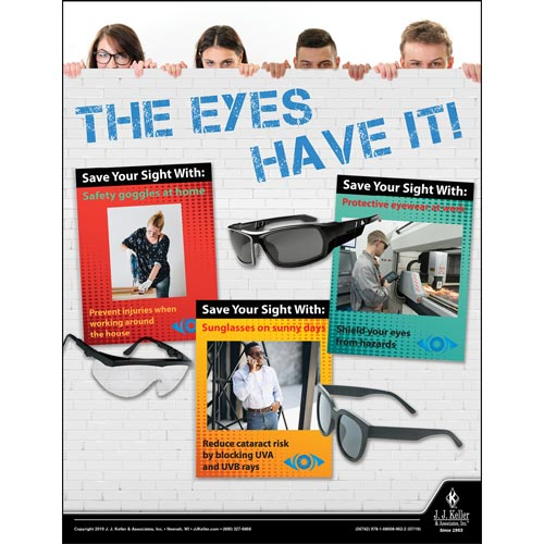 The Eyes Have It - Health & Wellness Awareness Poster (014662)