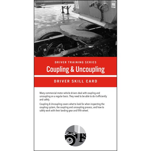 Coupling & Uncoupling: Driver Training Series - Driver Skills Cards (014798)