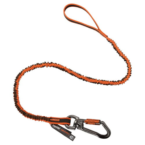 Double-Locking Single Carabiner with Swivel (014835)