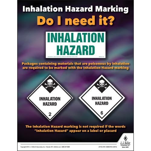 When Is A Hazmat Endorsement Required  - Inhalation Hazard Marking - Do I Need It? (015624)