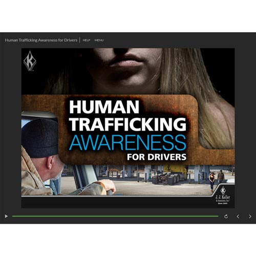Human Trafficking Awareness for Drivers - Online Training Course (014875)