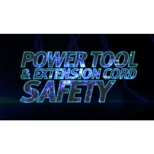 Power Tool Extension Cord Safety - Streaming Video Training Program (014901)