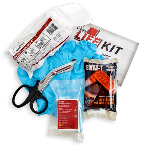 Bleeding Control First Aid Life Kit (014935)