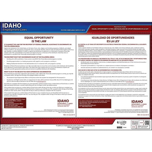 Idaho EEO Poster (014938)