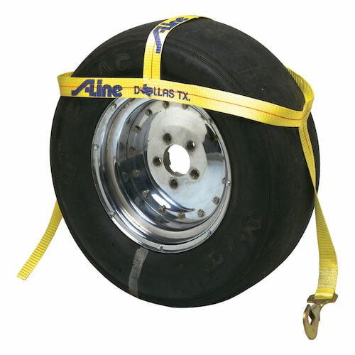 Adjustable Tire Bonnet Tiedown Strap (015068)