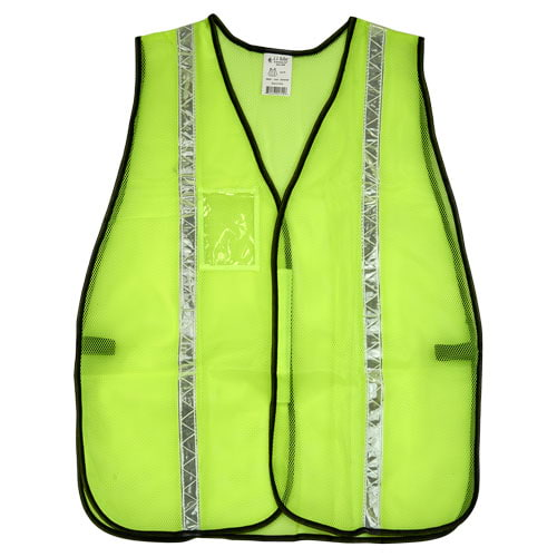 "J. J. Keller™ SAFEGEAR™ Non-Certified Safety Vest - Hook & Loop Closure with 1"" PVC Tape (015095)"