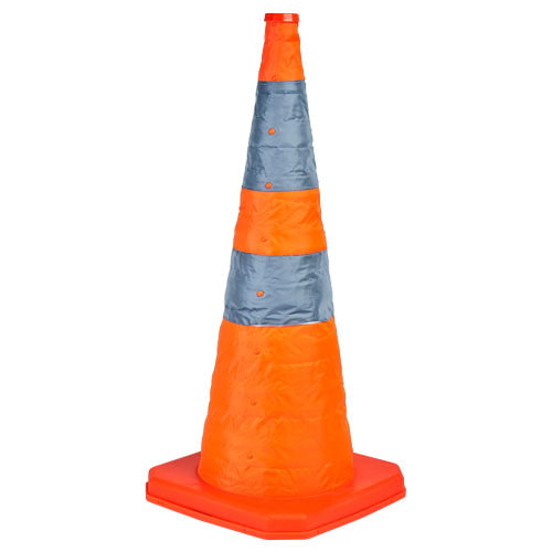 "Collapsible Traffic Cone with Internal LED - 28"" Tall (015100)"