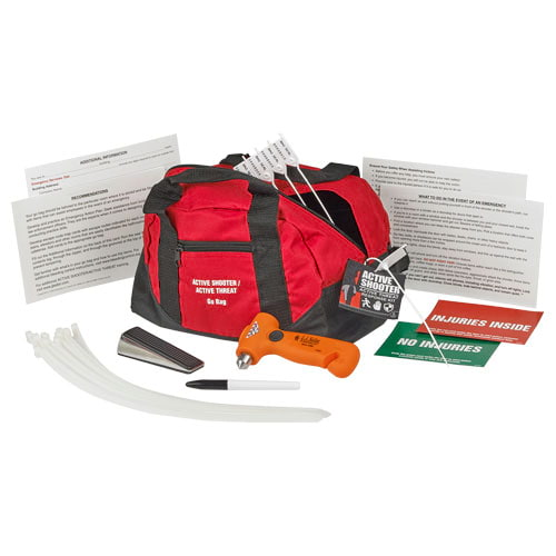 Active Shooter Go Bag Response Kit - Basic Tactical (015114)