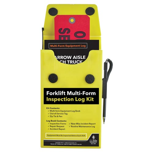 Narrow Aisle Reach Truck and Order Picker Multiform Forklift Inspection Kit (015179)