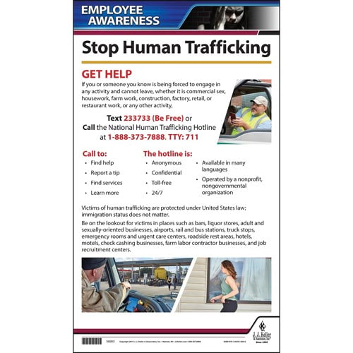 Human Trafficking Driver Awareness Poster (015387)