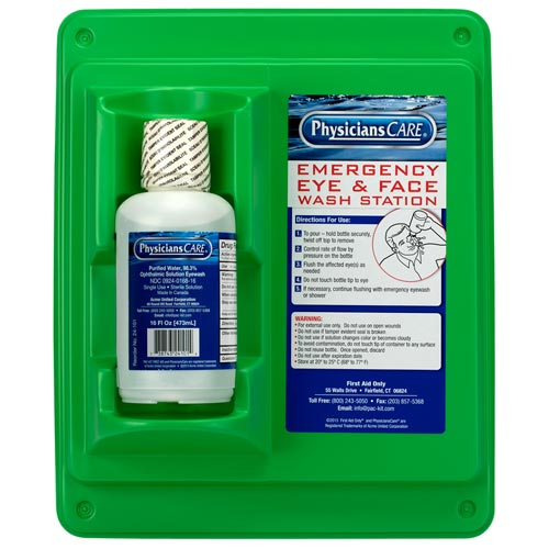 Physicians Care Eyewash Station – 16 oz. (015525)