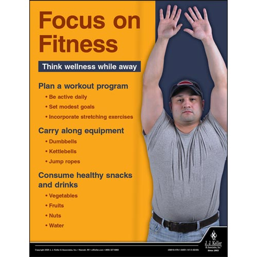 Focus On Fitness - Motor Carrier Safety Poster (015685)