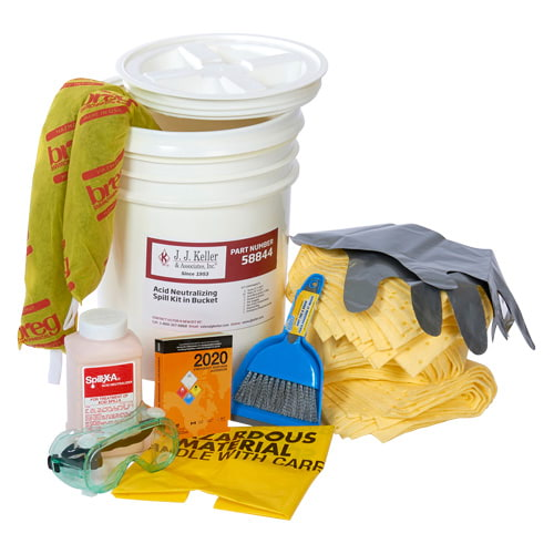 Battery Acid Spill Kit in Bucket (015586)