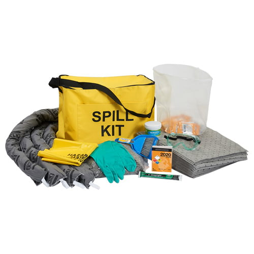 9.7-Gallon Truck Spill Kit in Cube-Shaped Bag - Universal (015590)