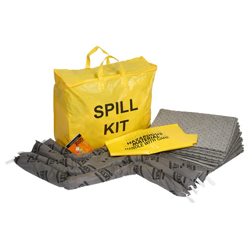 9.4-Gallon Universal Spill Kit in High-Visibility Bag (015593)