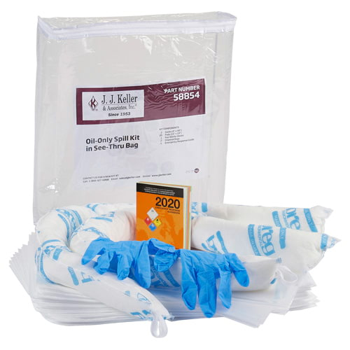 Truck Spill Kit in See-Thru Bag - Oil Only (015596)
