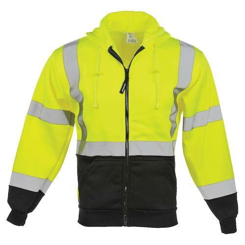 J. J. Keller™ SAFEGEAR™ Zipper Sweatshirt Type R Class 3 (017103)