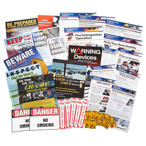 Transportation Small Industry Safety Poster Bundle (015756)