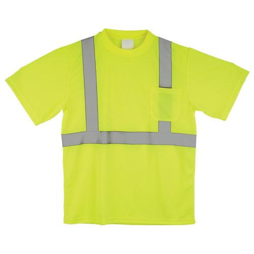 J. J. Keller™ SAFEGEAR™ Lime T-Shirt Type R Class 2 (015750)